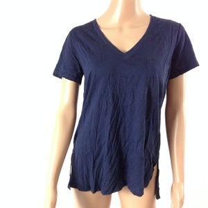 New Lush Women's Tshirt Navy Blue Size S Eclipse